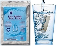 Pure Alkaline Water Drops With Bioavailable Coral Calcium