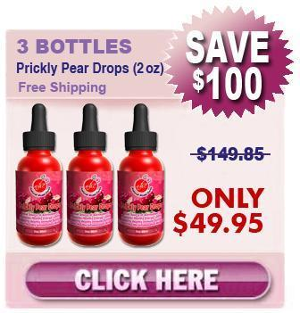 Buy Prickly Pear Drops 3 Bottles (2 oz)
